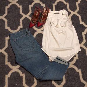 🌸Current Affair white blouse